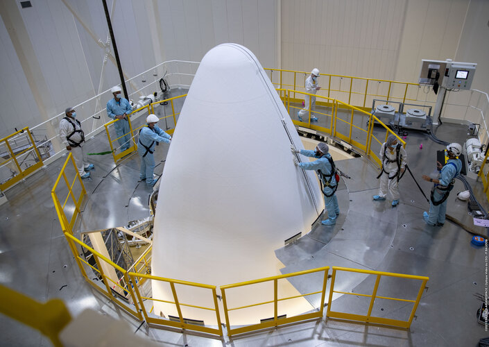 Europe's Spaceport in French Guiana is performing the first combined test in preparation for the inaugural flight of Ariane 6