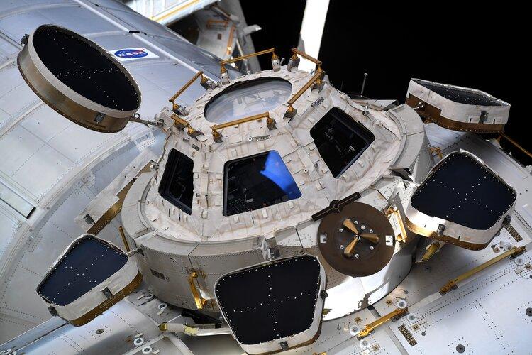 Cupola during Cygnus docking
