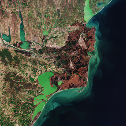The Copernicus Sentinel-2 mission takes us over the Danube Delta – the second largest river delta in Europe.
