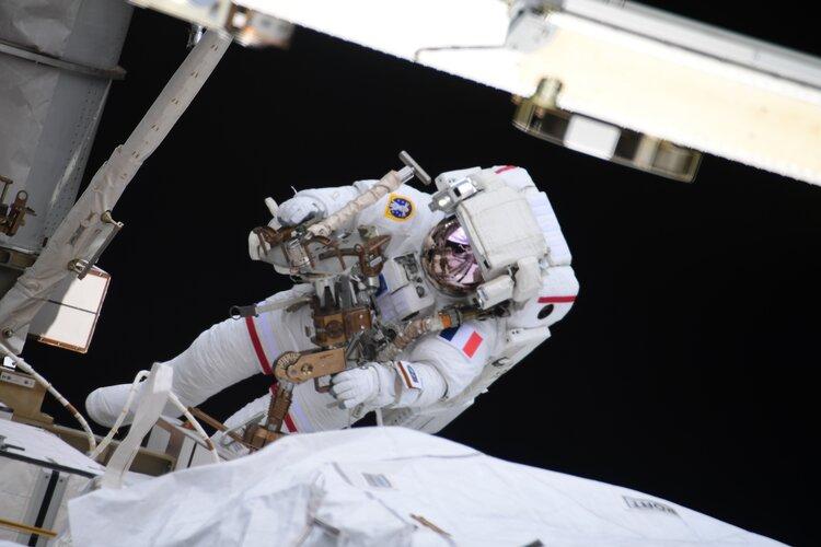 Second Alpha spacewalk