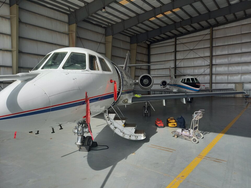 Two aircraft in Cabo Verde for Aeolus