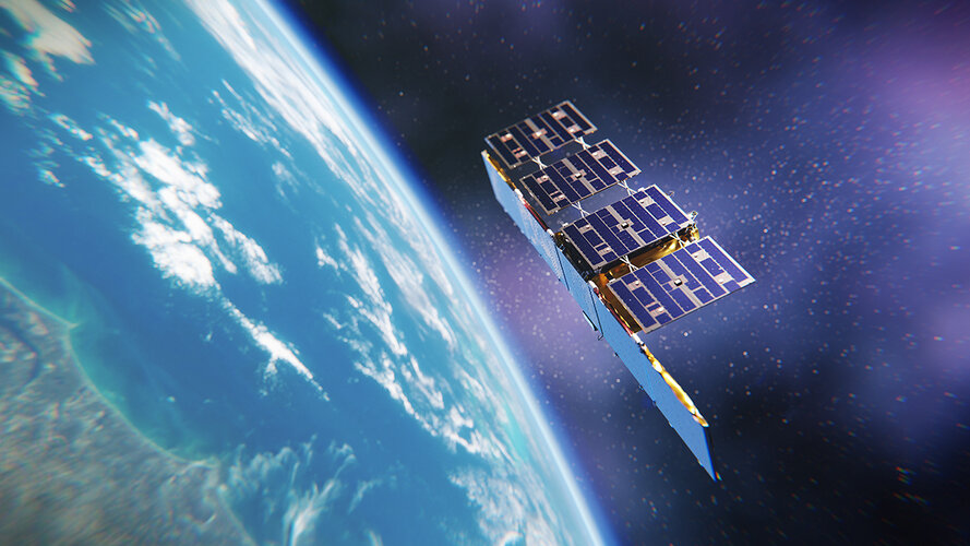 An ICEYE satellite