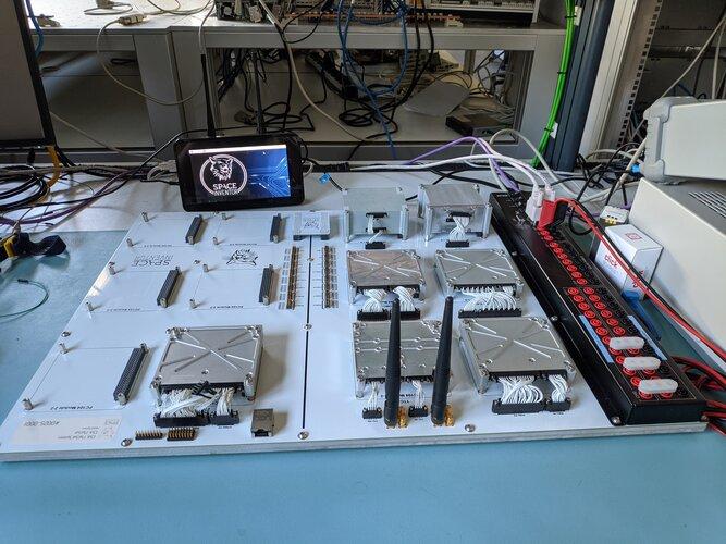 CubeSat FlatSat