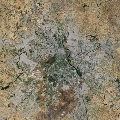 Earth from Space: New Delhi