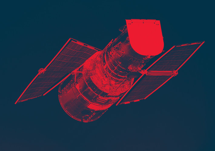 Launched: 1990 ESA contributed solar arrays and Faint Object Camera