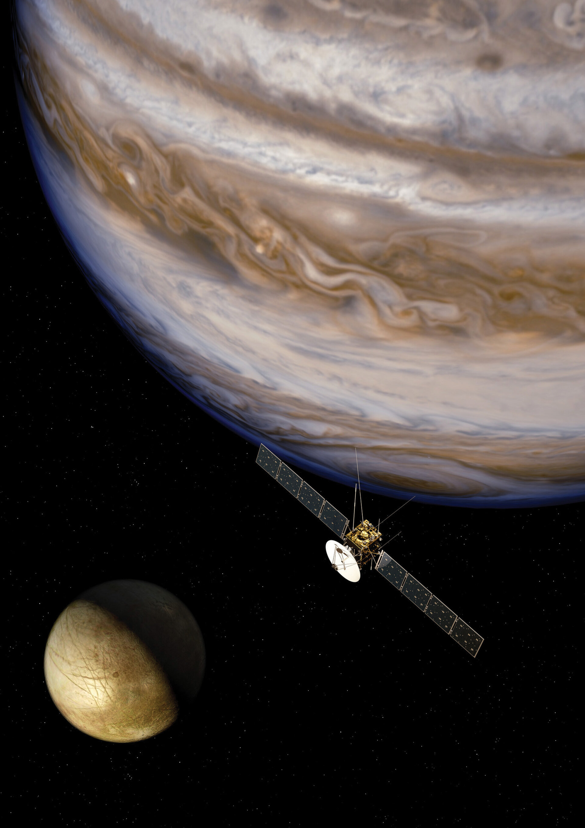 Europe's first mission to the Jupiter system