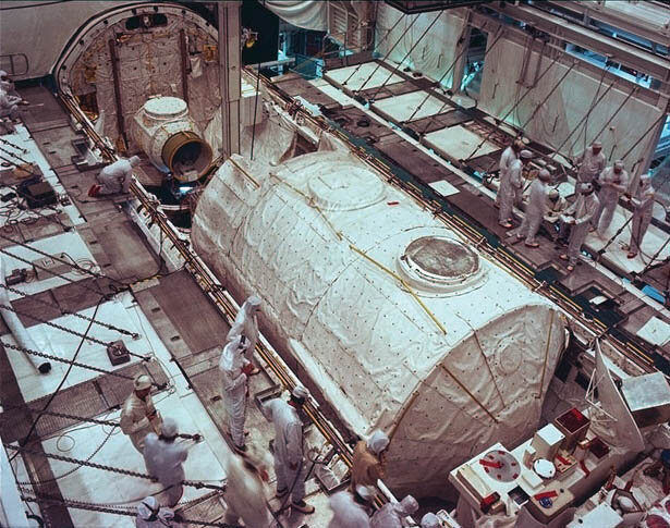 Spacelab-1 at NASA Kennedy Space Center, 1982