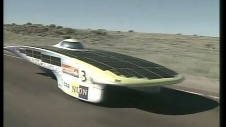 NUNA - ESA Sponsored car wins World Solar Challenge 2001