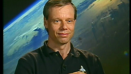 Christer Fuglesang prepares for mission STS-116