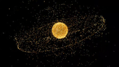 ESA's 2009 space debris video, produced by the Space Debris Office at ESA/ESOC, Darmstadt, Germany