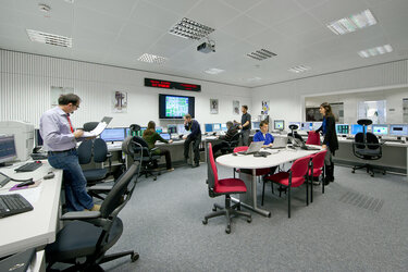 LISA Pathfinder control room