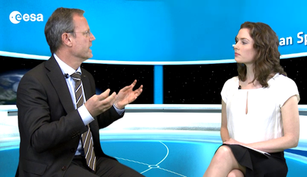 Interview with Volker Liebig Director of ESA's Earth Observation Programmes.