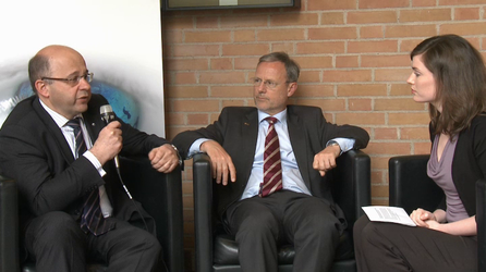 Interview with Volker Liebig (ESA) and Alain Ratier (Eumetsat) on GMES.