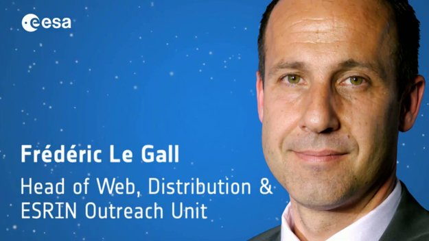 'Crossing the ramp' – Frédéric Le Gall on great content, new media and how to satisfy ESA's many audiences / Careers at ESA / About Us / ESA