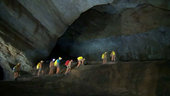 A day in the life of caving astronauts