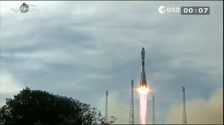 Launch of the second pair of Galileo IOV satellites