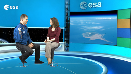 Interview with ESA astronaut Paolo Nespoli.