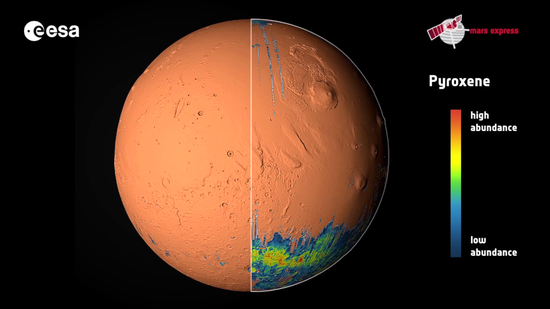 printable map of planet mars - photo #11