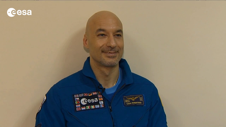 Interview with ESA astronaut Luca Parmitano.