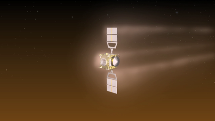 Visualisation of the Venus Express aerobraking manoeuvre