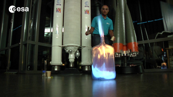 Whoosh bottle – applying newton's laws to rockets | Teach