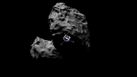 Rosetta's deployment of Philae to land on Comet 67P/Churyumov–Gerasimenko