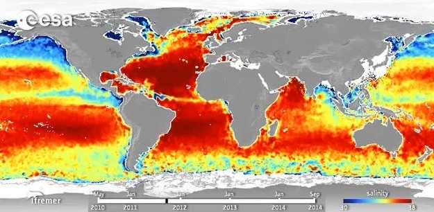 Salinity Matters    Smos    Observing The Earth    Our