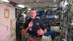 [9/24] Tim's first talk with media from space