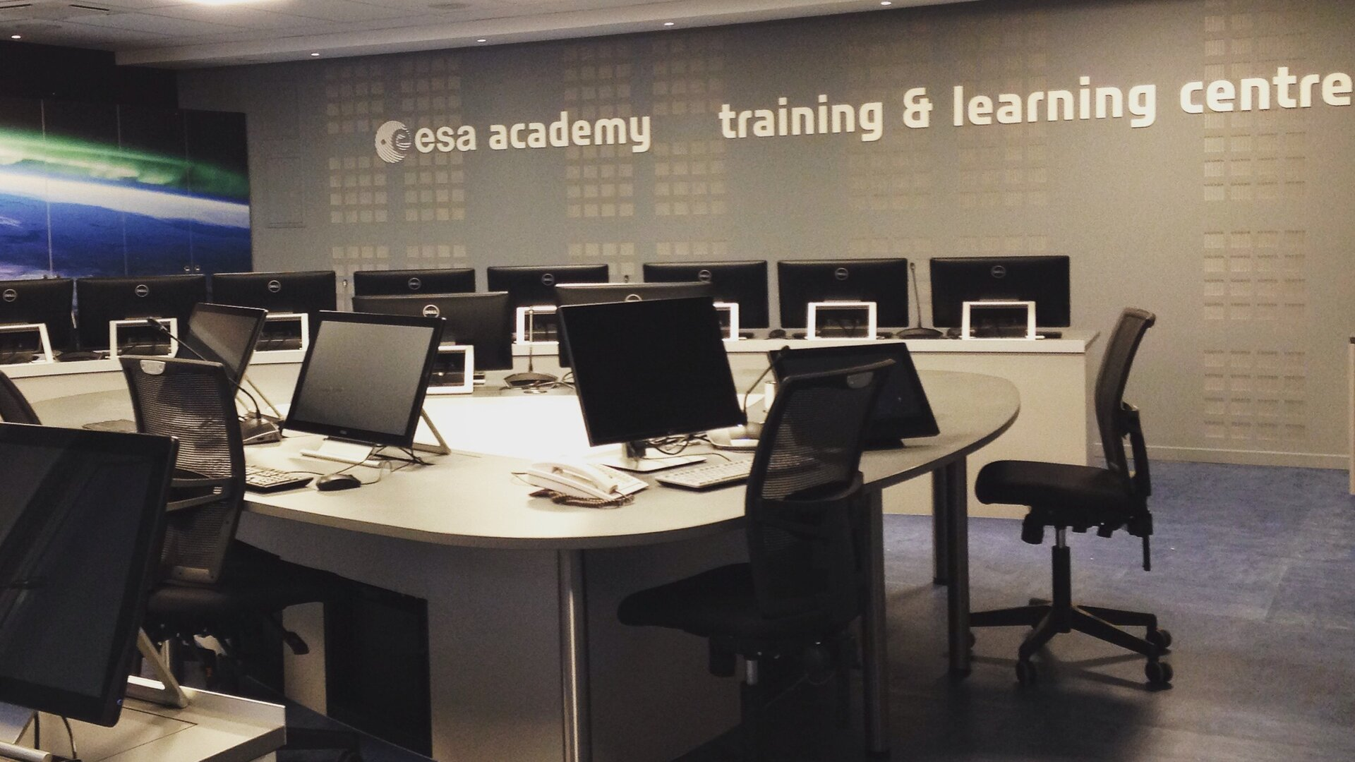 The New ESA Academy Training and Learning Centre in Redu