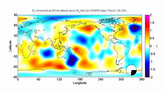magnetic oceans  electric earth swarm observing  earth  activities esa