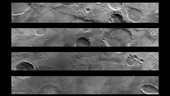 first views of mars show potential for esa s new orbiter