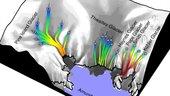 Satellites track variations in Antarctica's glacial retreat