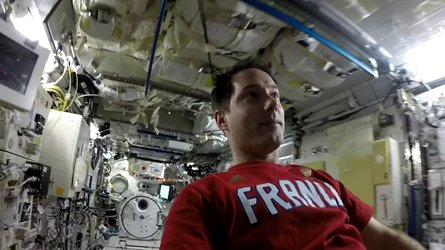 Tour the Space Station with Thomas Pesquet