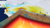 earth s squishy interior gives rapid rise to antarctica