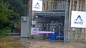 hot fire test proves 3d printed thrust chamber for future vega evolution