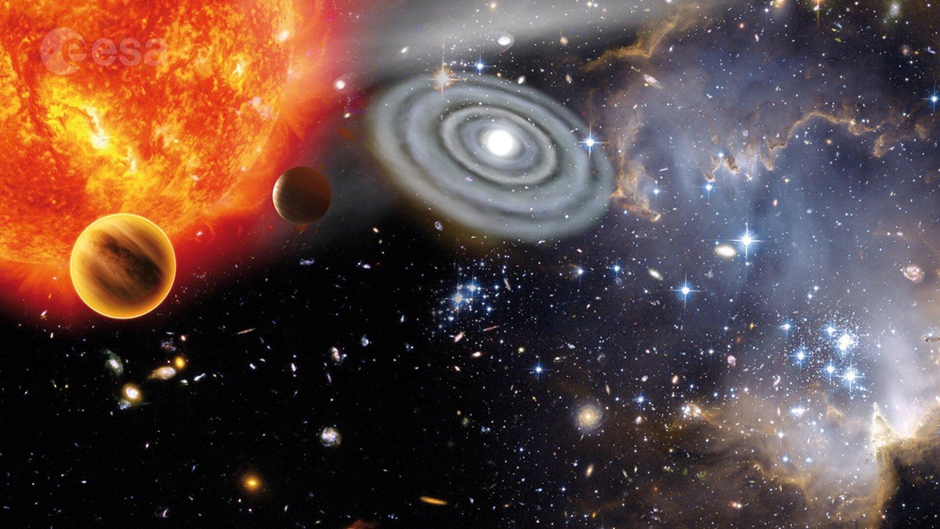 Esa A Taste Of Astronomy At Esa