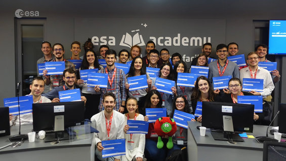 ESA Academy training session