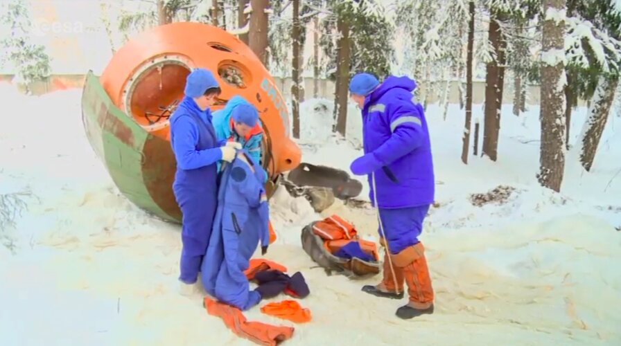 Fit for space – survival training