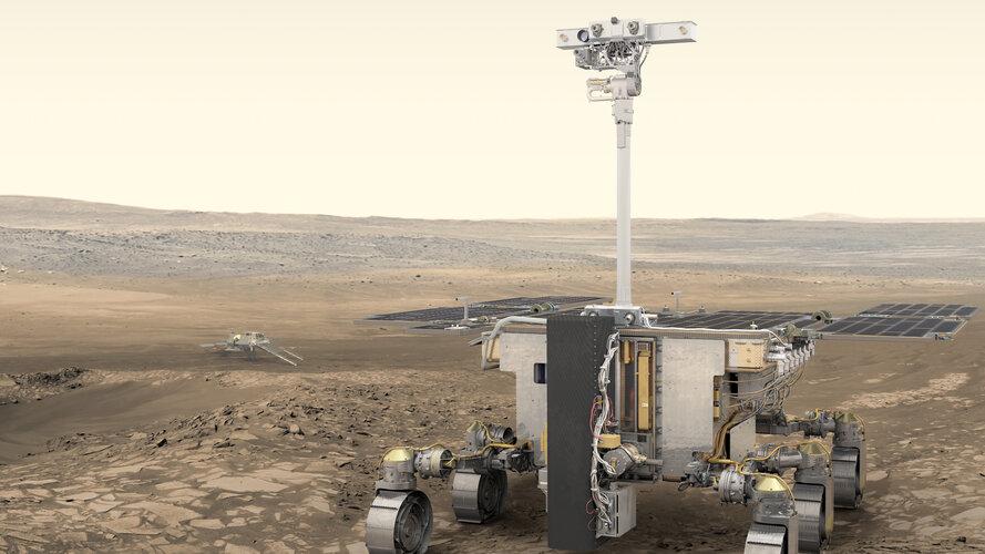 Press briefing on ExoMars