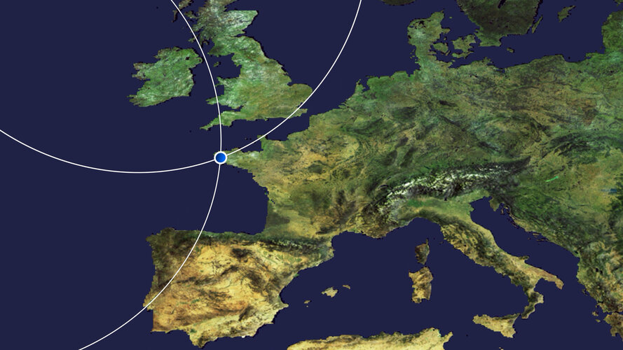 earth from space finistere