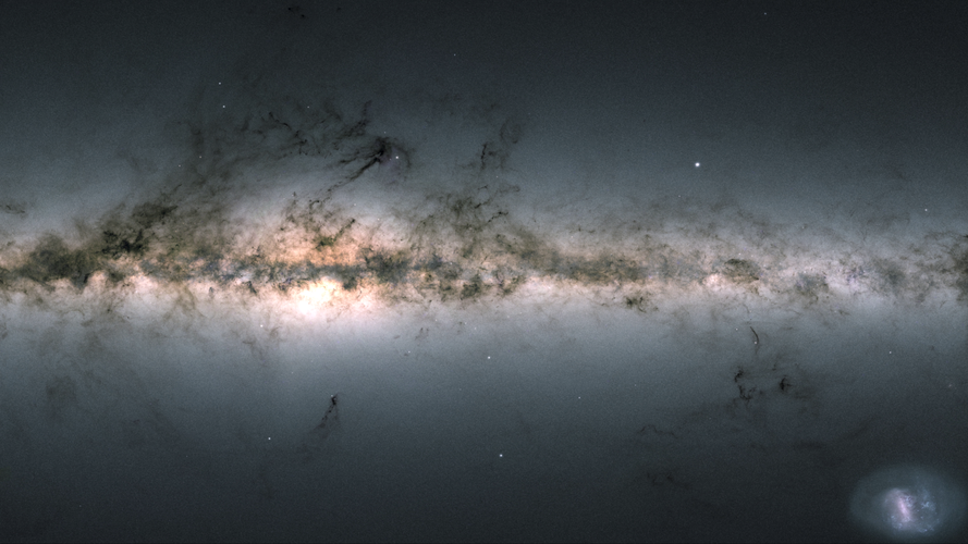 One billion stars and counting – the sky according to Gaia's second data release