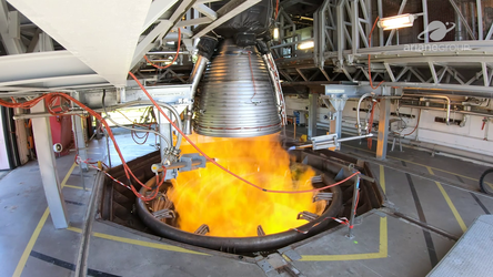 The Vulcain 2.1 engine for Ariane 6 performed its acceptance test in France on 21July 2020.