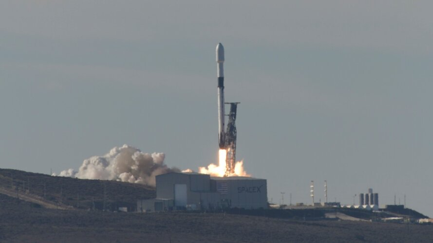 Copernicus Sentinel-6 Michael Freilich liftoff replay