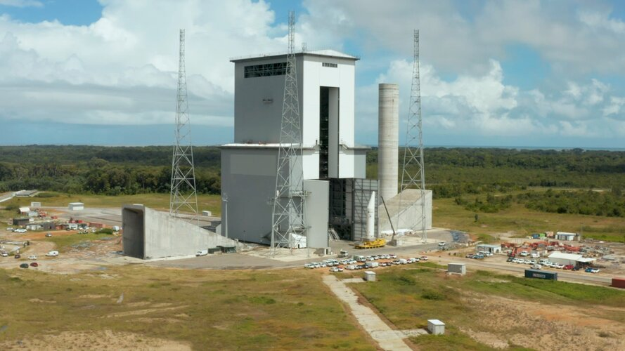 Tour the Ariane 6 launch complex at Europe's Spaceport in Kourou, French Guiana