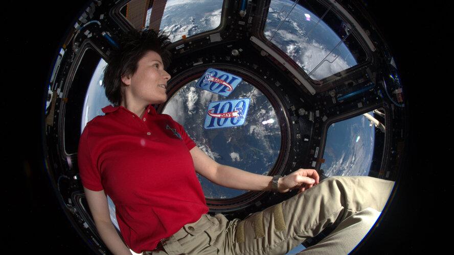 Media event: Second spaceflight for Samantha Cristoforetti