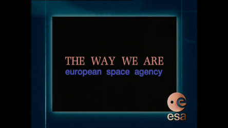A late 90's historical video presenting the European Space Agency